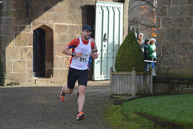 Steve finishes a mere 10 mile race